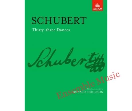 Schubert Thirty three Dances