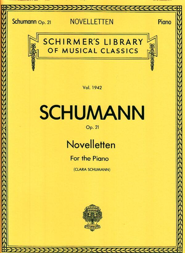 Schumann Op. 21 Novelletten For the Piano