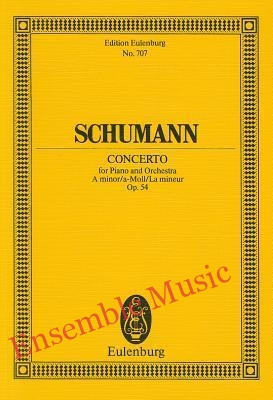 Schumann concerto for piano and orchestra
