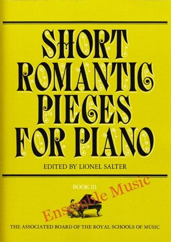 Short Romantic Pieces for Piano Book III