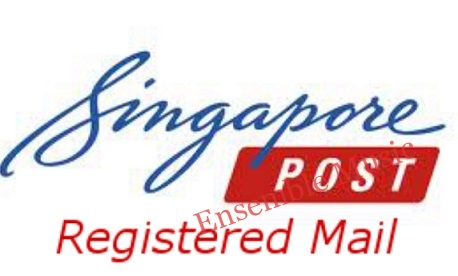 Singapore Registered mail