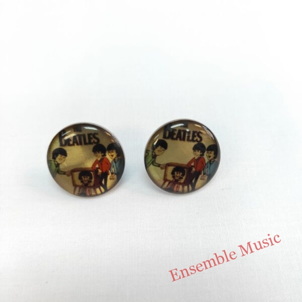 Small Stud Earring The Beatles scaled 1