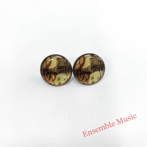 Small Stud Earring Treble Clef Sheet Music scaled 1