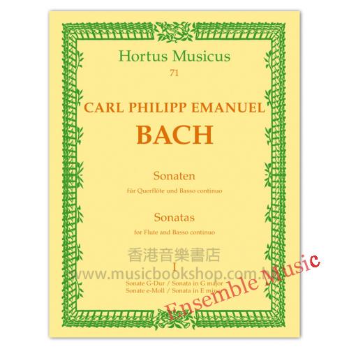 Sonatas for Flute continuo book 1
