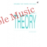 Specimen test papers for music theory grade 1