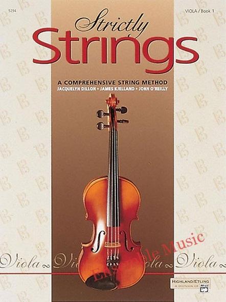 Strictly Strings Viola Book 1