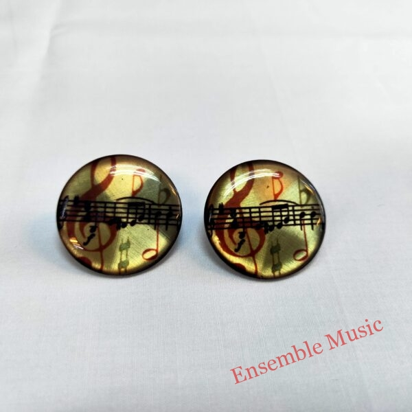 Stud Earring Treble Clef Sheet Music scaled 1