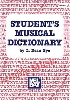 Students musical dictionary
