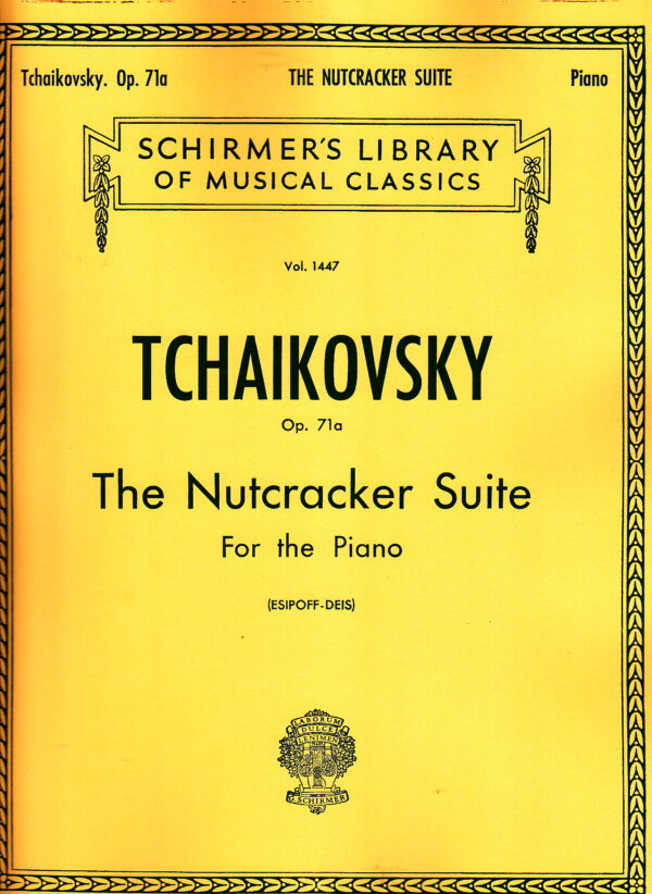 Tchaikovsky Op. 71a Nutcracker Suite For the Piano