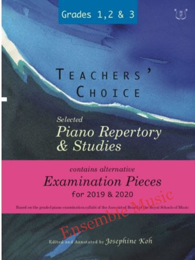 Teachers Choice Selected Piano Repertory and Studies 2019 2020 Grades 1 3