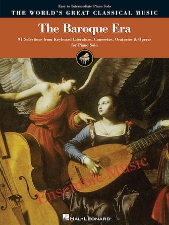 The Baroque Era Easy to Intermediate Piano Solo