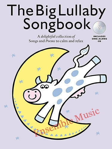 The Big Lullaby Songbook Learn to Play Vocals Voice Piano Music Book CD KIDS