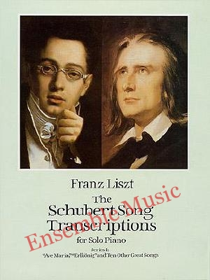 The schubert song transcriptions for solo piano series I