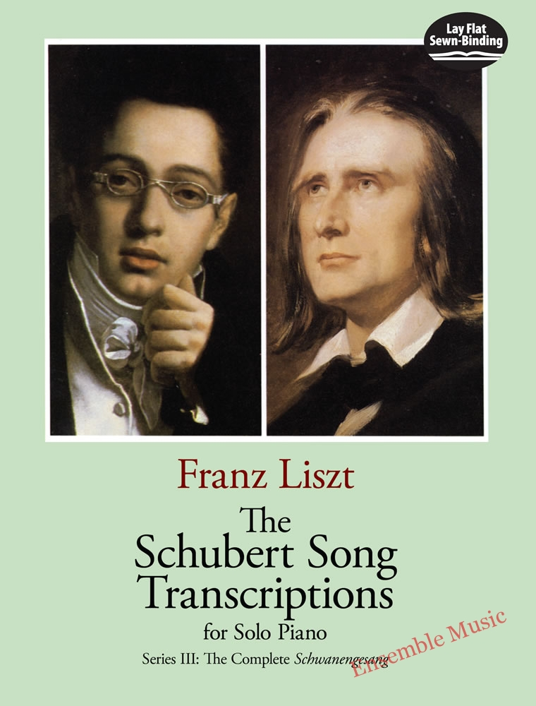 The schubert song transcriptions for solo piano series III