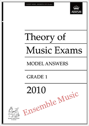 Theory 2010 G1 model ans