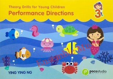 Theory Drills For Young Children Book 3
