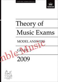 Theory model answers 2009 G2