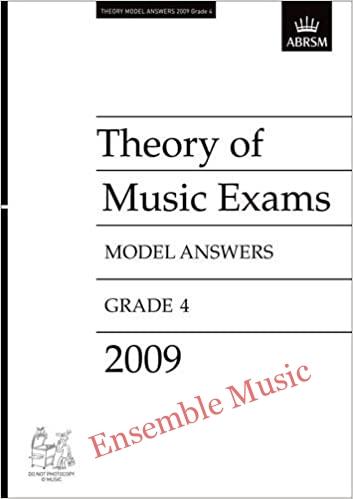 Theory model answers 2009 G4