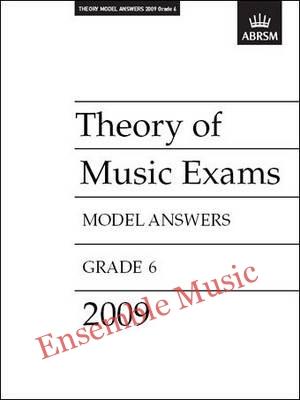 Theory model answers 2009 G6
