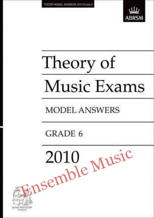 Theory model answers 2010 G6