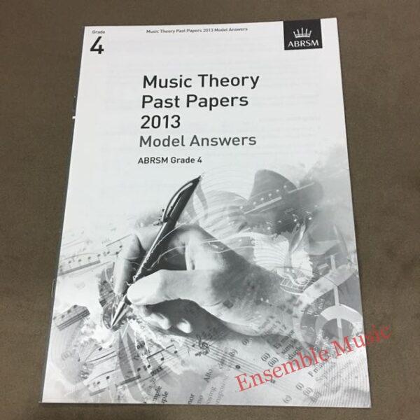 Theory model answers 2013 G4