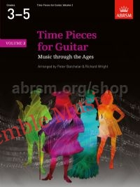 Time Pieces for Guitar Volume 2