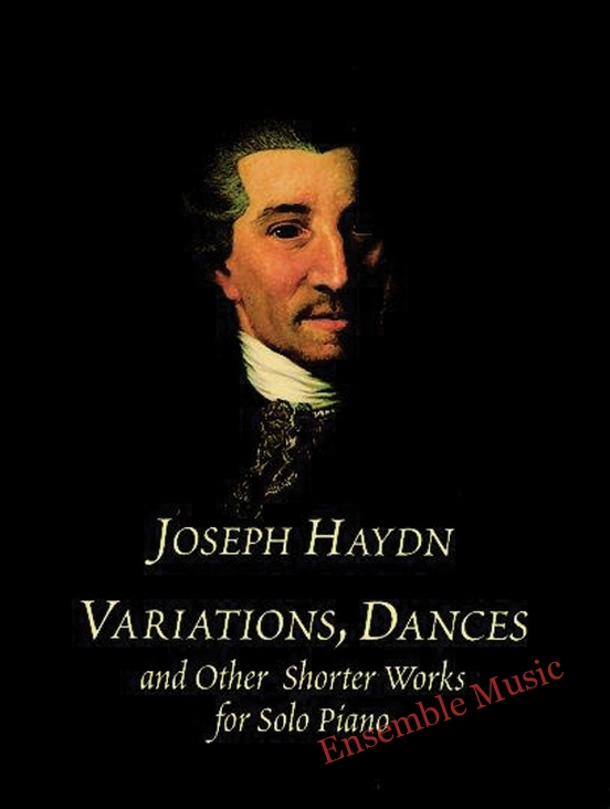 Variations dances and other shorter works for solo piano