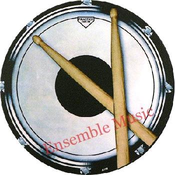 Vinyl Coaster Snare Drum