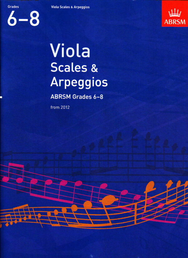 Viola Scales Arpeggios 6 8