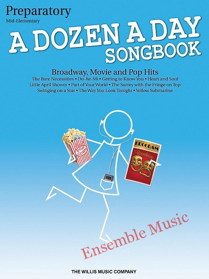 a dozen a day songbook preparatory mid elementary