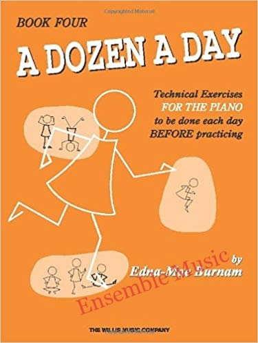 a dozen a day technical exercises book 4