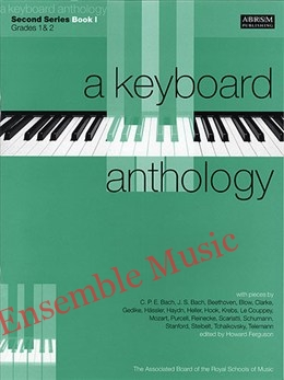 a keyboard anthology second series book 1