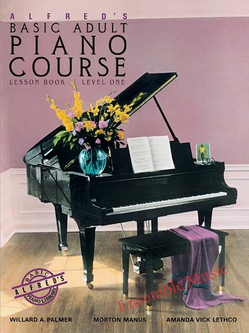 alfred basic adult piano course lesson level 1 no CD