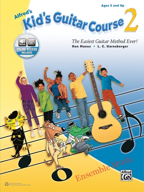 alfred kids guitar course online access