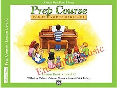 alfred prep course lesson book C