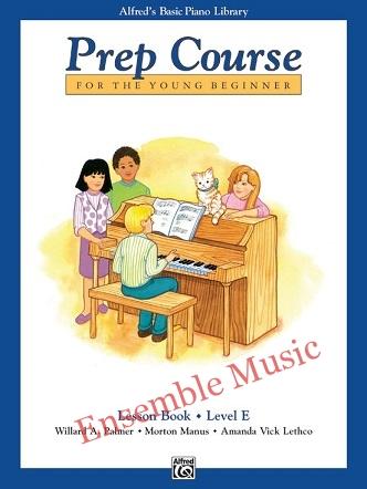 alfred prep course lesson book e