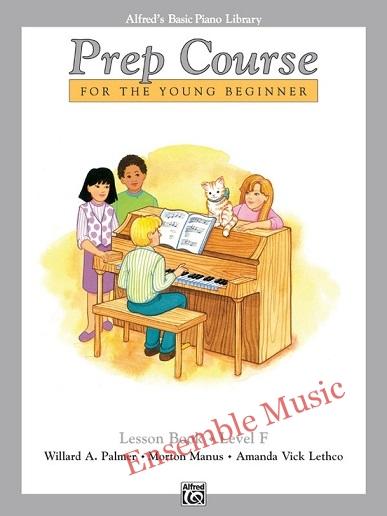 alfred prep course lesson book f