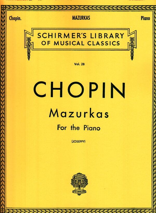 chopin mazurkas for the piano