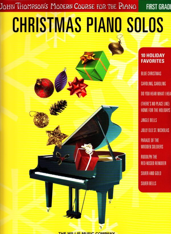 christmas piano solos first grade