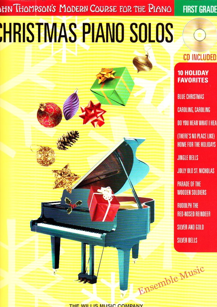 christmas piano solos first grade CD
