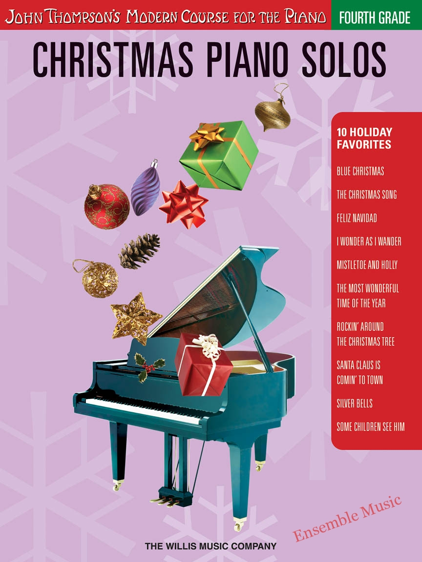 christmas piano solos fourth grade