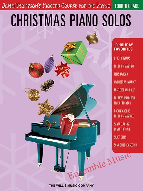 christmas piano solos fourth grade CD