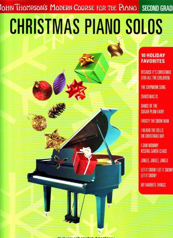 christmas piano solos second grade