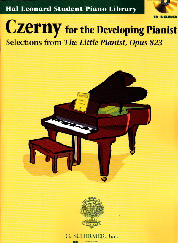 czerny for the developing pianist CD