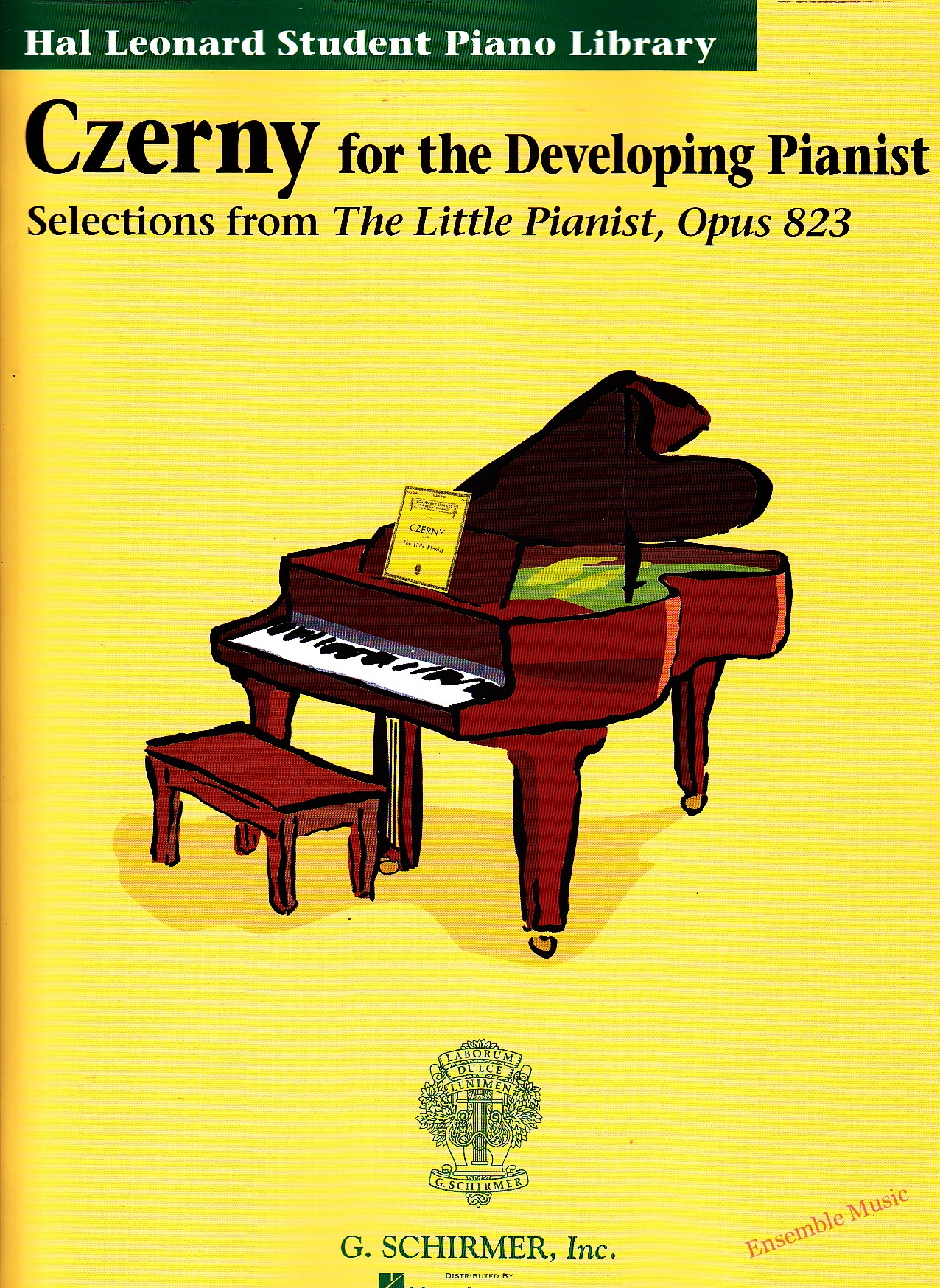 czerny for the developing pianist