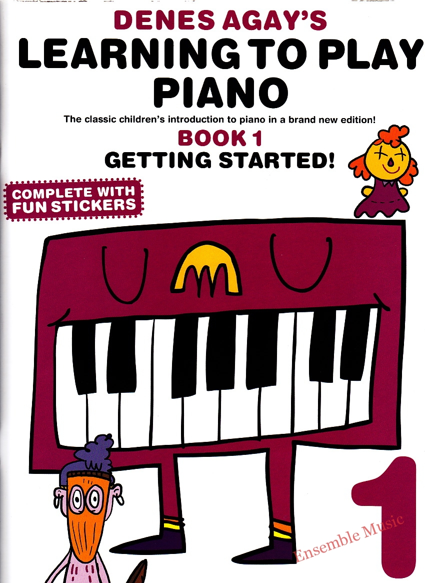 denes agay learning to play piano book 1