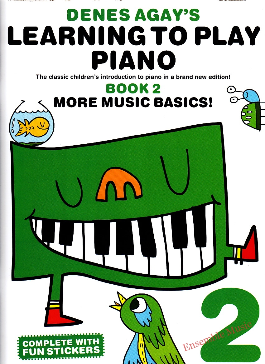 denes agay learning to play piano book 2