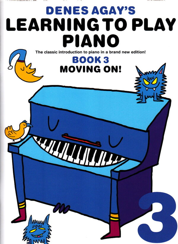 denes agay learning to play piano book 3