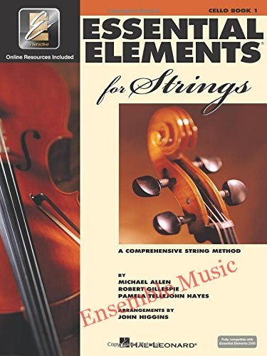 essential elements for string cello book 1