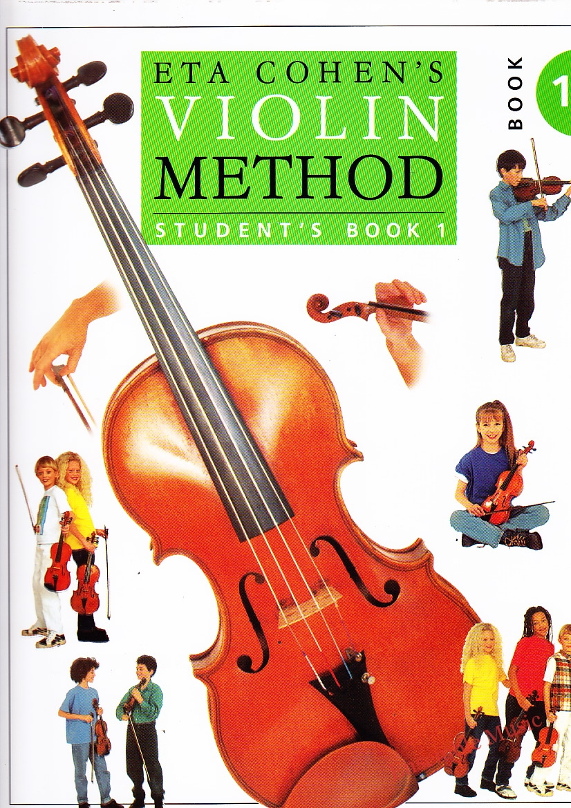 eta cohen violin method student bk 1
